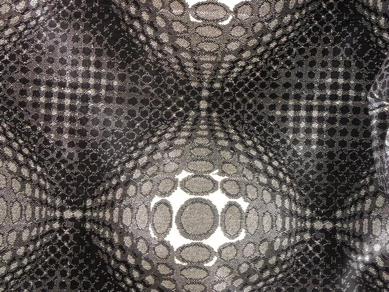 Tissu effet 3D